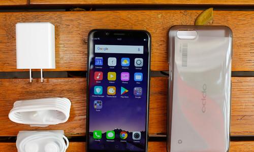 Oppo A83 - smartphone màn hình tràn viền giá tốt