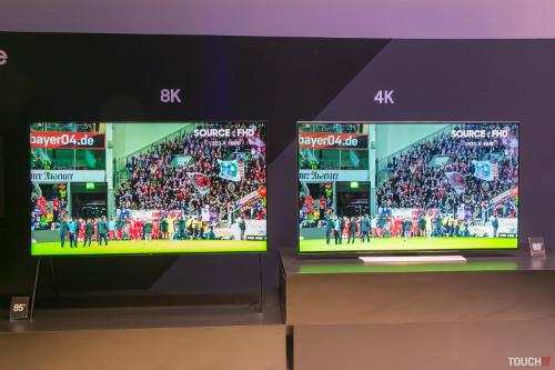 TV 8K tích hợp AI của Samsung.