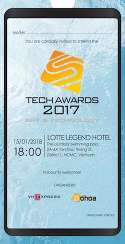 Chiều nay bốc thăm may mắn Tech Awards vòng cuối