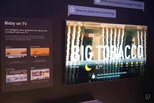 Trợ lý giọng nói dùng công nghệ trí tuệ nhân tạo sẽ phổ biến trên các TV cao cấp 2018.