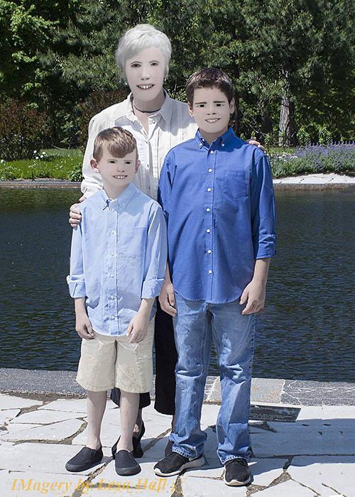 Bộ ảnh gia đình gây sốt mạng Internet vì xấu không tin nổi - 4
