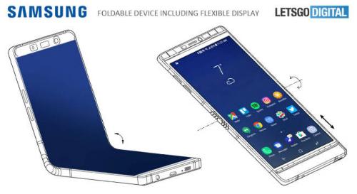 Galaxy X màn hình gập tiếp tục bị lộ thiết kế