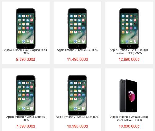iPhone 7 và 7 Plus giảm giá mạnh để xả hàng trước Tết.