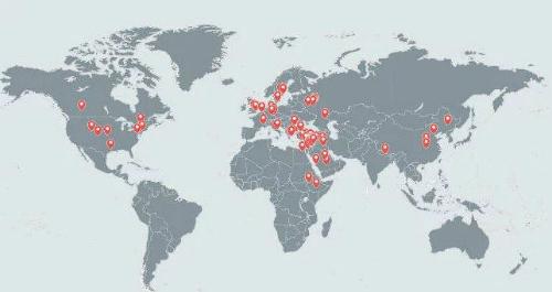Nạn nhân của nhóm hacker trải khắp thế giới.