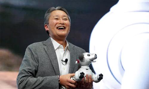 CEO Sony Kaz Hirai.