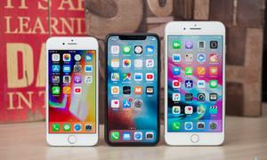 iPhone 8 bán chạy hơn iPhone X tại Mỹ