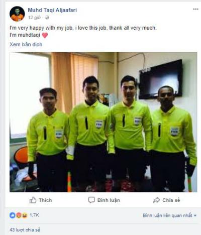 Các bình luận mang tính khiêu khích nhận được cả ngàn lượt tương tác từ người hâm mộ bóng đá Việt Nam.