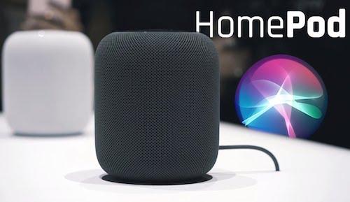 Loa thông minh Apple HomePod.