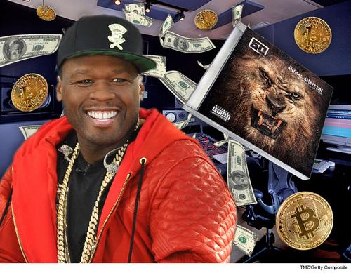 50 Cent đã kiếm hàng triệu USD nhờ Bitcoin.