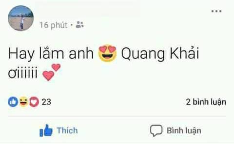 Hoặc nhầm lẫn khác là Quang Khải thay vì tên đúng Quang Hải.