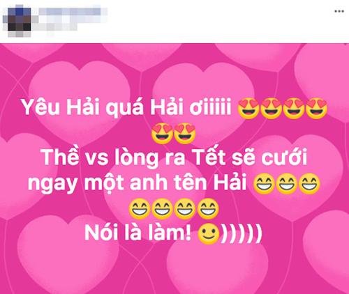 Tình yêu của một người hâm mộ dành cho tiền vệ Quang Hải.