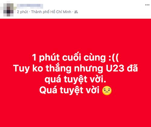 Những cung bậc cảm xúc trên mạng xã hội dành cho U23 Việt Nam - 9