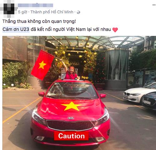 U23 Việt Nam là niềm tự hào, là anh hùng trong mắt người hâm mộ dù kết quả có như thế nào.