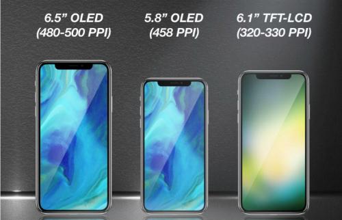 Hai iPhone X thế hệ kế tiếp sẽ có 4GB RAM và pin chữ L