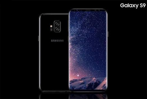 Ý tưởng Galaxy S9.