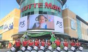 Khách hàng Lotte Mart hưởng tiện ích khi mua sắm trực tuyến