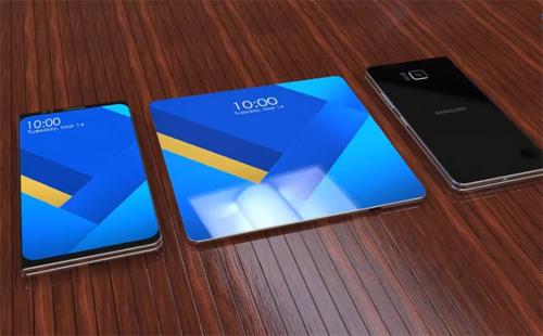 Galaxy S10 có thể là mẫu Galaxy X vẫn được đồn đoán thời gian qua với màn hình gập.