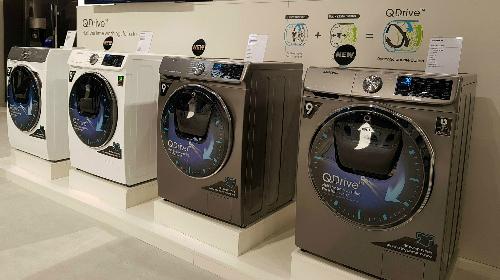 Máy giặt Samsung 2018 sẽ rút ngắn một nửa thời gian giặt giũ