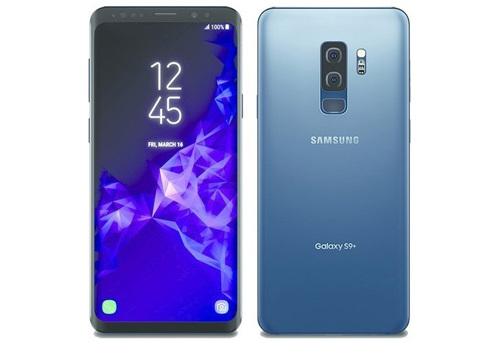 Galaxy S9 Coral Blue.