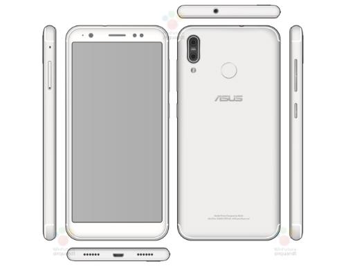 Zenfone 5 với mặt lưng như kiểu iPhone.