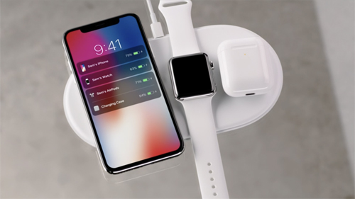 When Apple launched the iPhone X, it also mentioned AirPower, a charging mat that would enable an iPhone, Apple Watch, and AirPods to charge without being plugged in. Theres no firm release date yet just 2018 and no price.