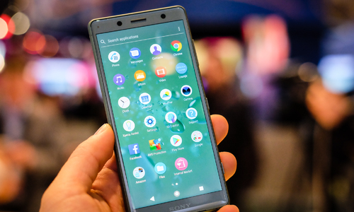 Smartphone cấu hình cao, dáng nhỏ gọn của Sony