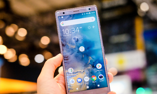 Xperia XZ2 - smartphone phong cách mới của Sony