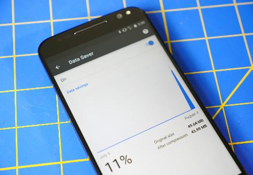 Kích hoạt tính năng tiết kiệm dữ liệu là giải pháp tiết kiệm chi phí 3G cho người dùng. Ảnh: CNET