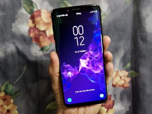 Galaxy S9 sở hữu màn hình vô cực tràn viền, kích thước màn hình 5,8 inch.
