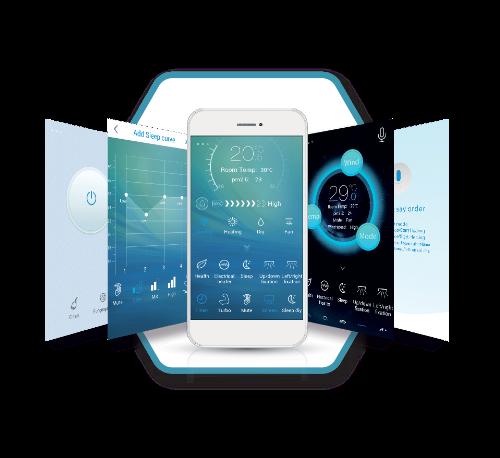 Với chức năng Smart Wifi, bạn có thể điều khiển điều hòa Casper thông qua thiết bị smartphone ở bất cứ nơi đâu.