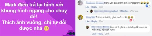 Ảnh trên Facebook di động bất ngờ bị đổi sang định dạng vuông