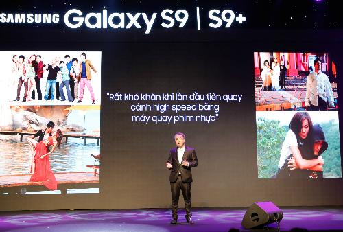 Đạo diễn Quang Dũng: Nếu mọi điện thoại đều như Galaxy S9, tôi sẽ thất nghiệp - 1