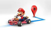 Mario xuất hiện trên Google Maps