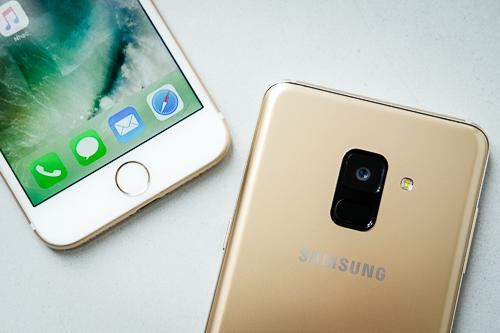 So sánh bộ đôi cận cao cấp iPhone 7 và Galaxy A8 - 13
