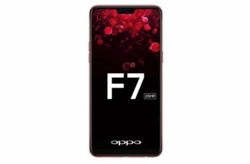Oppo F7 màn hình tai thỏ lộ diện