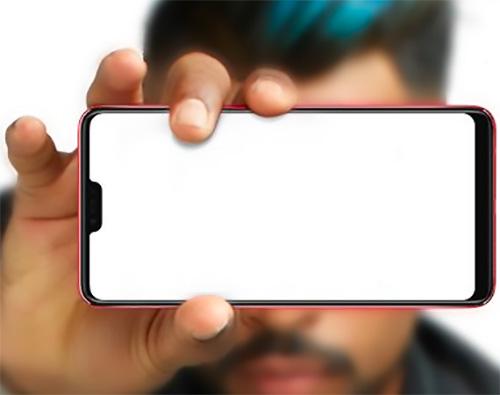 Oppo F7 màn hình tai thỏ lộ diện - 1