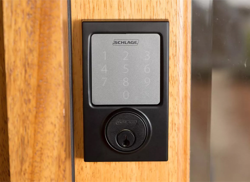 Schlage Sense Bluetooth Deadbolt.