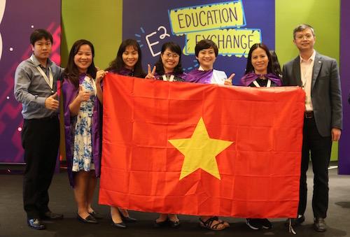 5 nữ nhà giáo đại diện cho Việt Nam tham gia diễn đàn Microsoft E2 2018.