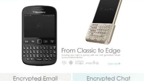 Một loạt trùm ma túy đã dùng điện thoại Blackberry tùy biến