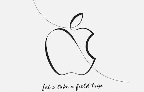 Thư mời sự kiện của Apple hôm 27/3.