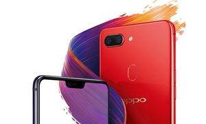 Oppo ra smartphone màn hình tai thỏ như iPhone X