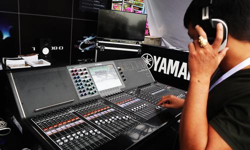 Mixer giá 800 triệu đồng của Yamaha