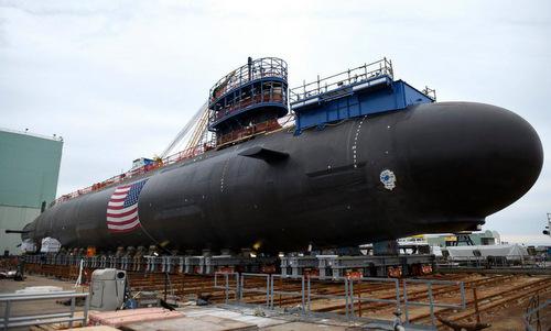 Tàu ngầm Mỹ được điều khiển bằng tay cầm chơi game