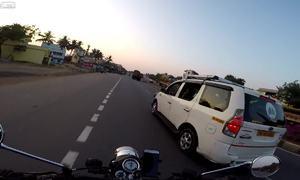 Video suýt chết vì ôtô đi ngược chiều được chú ý nhiều nhất tuần qua