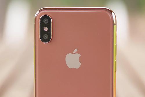 iPhone màu blush gold được tiết lộ bởi Benjamin Geskin.