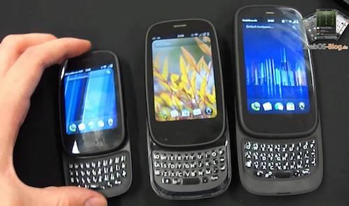 Một số dòng máy nổi tiếng của Palm.