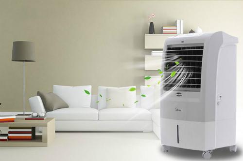 Quạt điều hòa là biện pháp làm mát giá rẻ cho mùa nóng thay cho điều hòa nhiệt độ.
