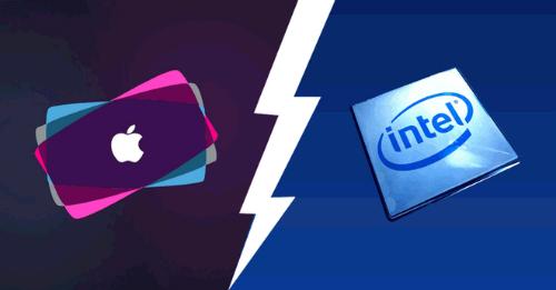 Apple đang tiến lên chỉ bởi vì Intel đã đứng một chỗ im lặng trong quá lâu mà thôi.