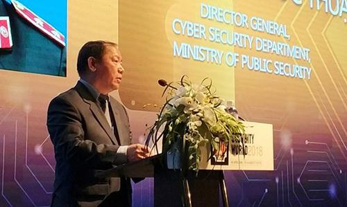 Trung tướng Hoàng Phước Thuận, Cục trưởng Cục An ninh mạng (Bộ Công an).