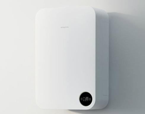 Smartmi Fresh Air có thiết kế treo tường.